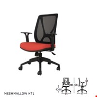 Jual kursi kantor staff SAVELLO MESHMALLOW HT1