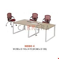 Jual Meja Kantor Meeting Carrera NEBO 4