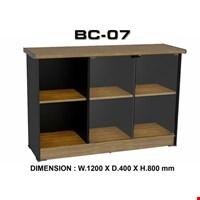 Jual Lemari kantor arsip VIP BC 07 (Kaca)