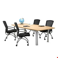 Jual Meja meeting kantor Aditech SR 2402 (240cm)