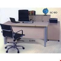Jual Meja kantor Direktur Aditech IS 896 (160cm)