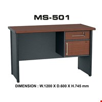 Jual Meja Kantor Staff Utama VIP MS 501 (120cm)