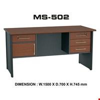 Jual Meja Kantor Staff Utama VIP MS 502 (150cm)