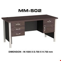 Jual Meja Kantor Staff utama VIP MM 502 (150cm)