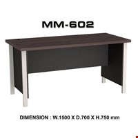 Jual Meja Kantor Staff utama VIP MM 602 (150cm)