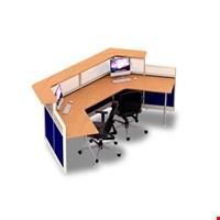 Jual Partisi kantor 2 staff Uno URS 3111