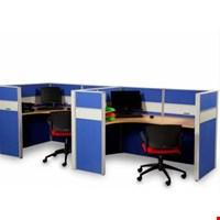 Jual Partisi kantor Modera 6.2 WS 3 Staff