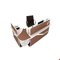 Jual Meja Meeting Enduro Custom Wood Reception Desk