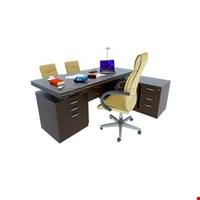 Jual Meja Meeting Enduro Luxurious Wood Director Desk