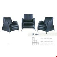 Jual Sofa Kantor Gresco Type LS 01 2 SEAT