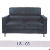 Jual Sofa Kantor Gresco Type LS 03 2 SEAT