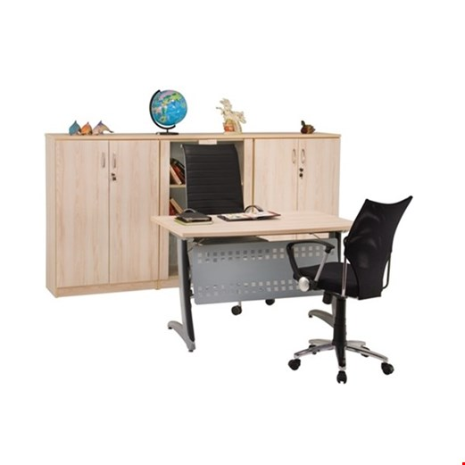 Jual Meja Kantor Staff utama Aditech MS 01 (120CM) - Tanpa Laci