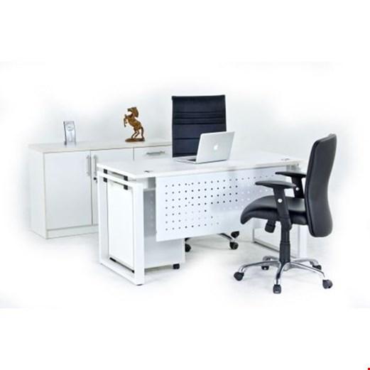 Jual Meja Kantor utama Aditech FR 08 + Laci dorong