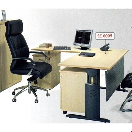 Jual Meja Direktur Aditech SE 6005 (180cm)