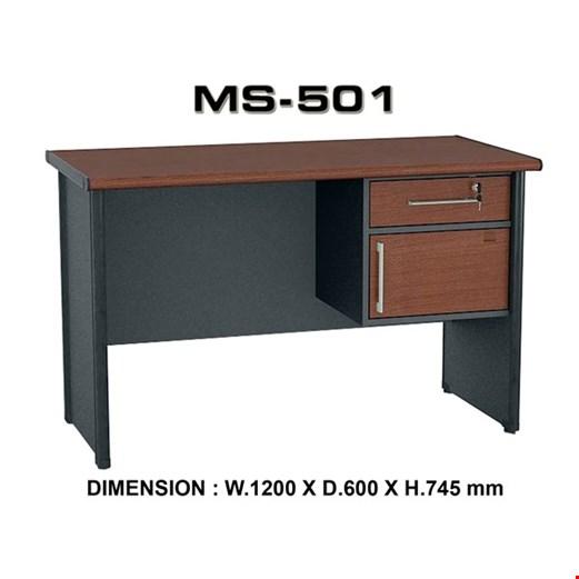 Jual Meja Kantor Utama VIP MS 501 (120cm)