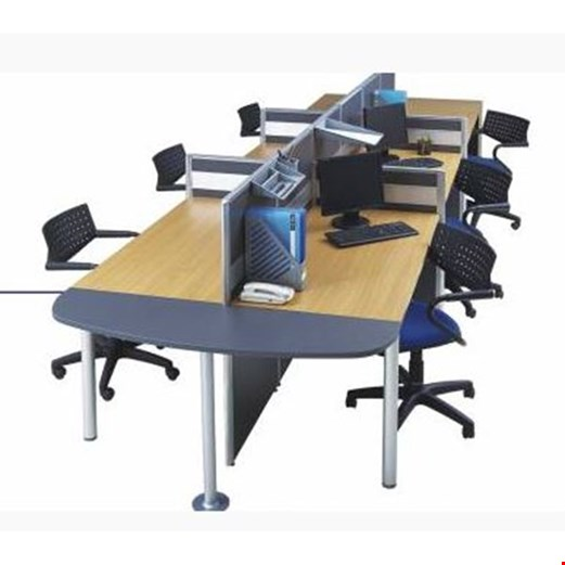 Jual Partisi kantor Modera 3.5 WS 6 Staff