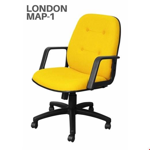 Jual Kursi Kantor Uno London MAP 1 (Oscar/Fabric)