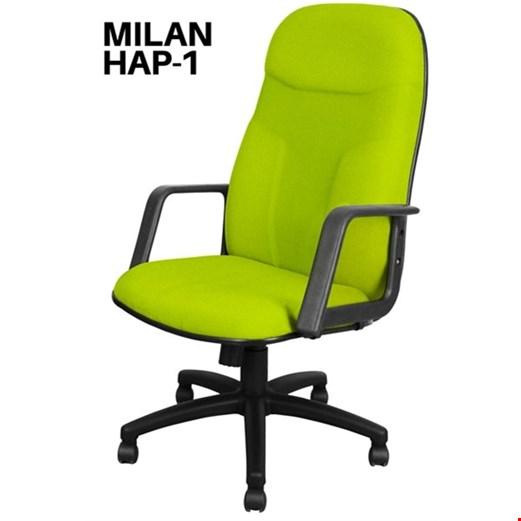 Jual Kursi Direktur Uno Milan HAP 1 (Oscar/Fabric)