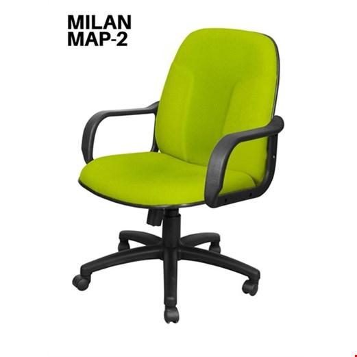 Jual Kursi Kantor Uno Milan MAP 2 (Oscar/Fabric)