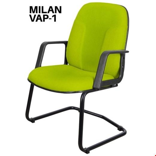 Jual Kursi Tamu Uno Milan VAP 1 (Oscar/Fabric)