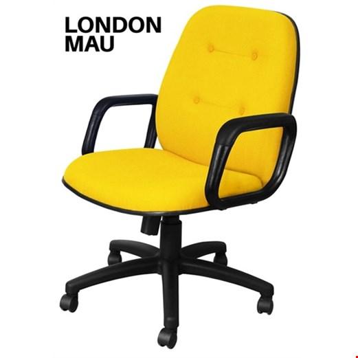 Jual Kursi Kantor Uno London MAU (Oscar/Fabric)