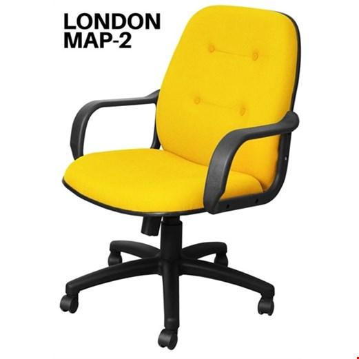 Jual Kursi Kantor Uno London MAP 2 (Oscar/Fabric)