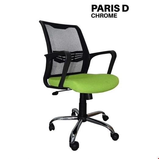 Jual Kursi Kantor Uno Paris D Chrome (Oscar/Fabric)