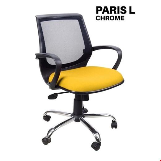 Jual Kursi Kantor Uno Paris L Chrome (Oscar/Fabric)