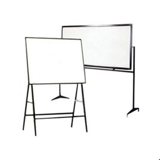 Jual Whiteboard GM NEW ECO DOUBLE FACE STAND WNE 456 DF