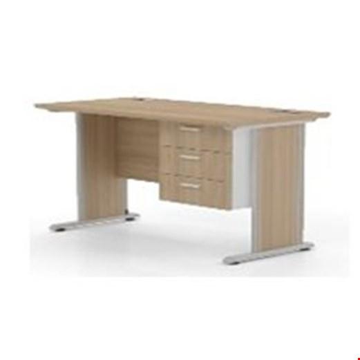 Jual Meja Kantor Highpoint Six OD6120 Cappucino