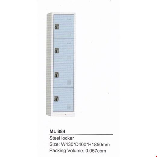 Jual locker besi modera ML 884-B